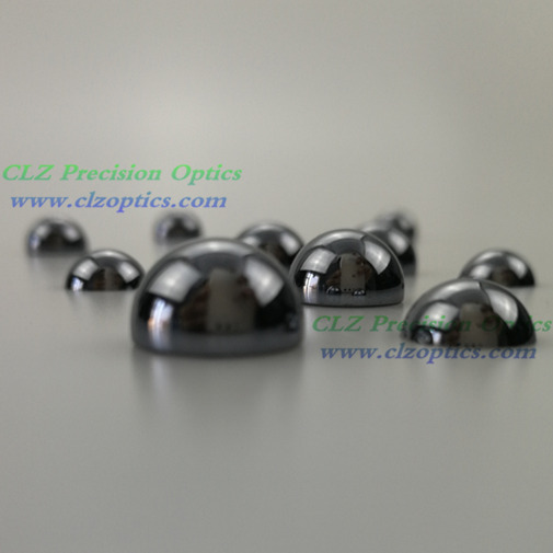 hyper-hemispherical, hemispherical silicon lens for Thz applications