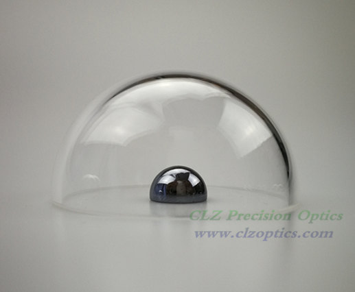 Optical Dome, 50mm diameter, 2mm thick, 16mm height, N-BK10 type Dome Windows