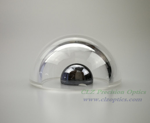 Optical Dome, 36mm diameter, 2mm thick, 18mm height, N-BK7 or equivalent type Dome Windows