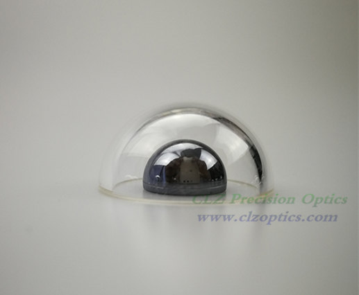 Optical Dome, 25mm diameter, 2mm thick, 12.5mm height, N-BK7 or equivalent type Dome Windows