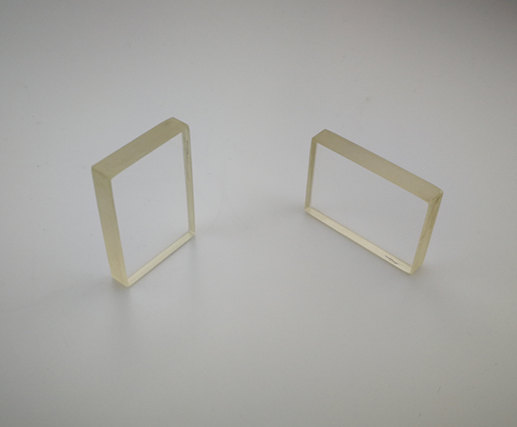 Square Precision window, 35x25mm, 6mm Thick, 450-900nm Ravg < 0.5% Single Sided coated, BK7 Precision Windows
