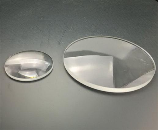 UV grade Fused Silica meniscus lenses from CLZ Optics