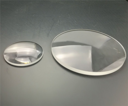 UV Grade Fused Silica Plano Convex Lens from CLZ Optics